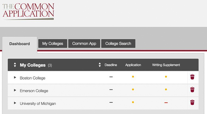 how to change common app from first year to transfer